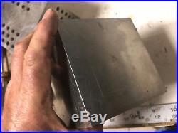 MACHINIST LATHE TOOL MILL Machinist 2 NICE Ground Angle Plates Fixtures Blocks