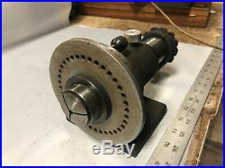 MACHINIST LATHE TOOL MILL Machinist 5C Collet Spinning Index Fixture OfCe