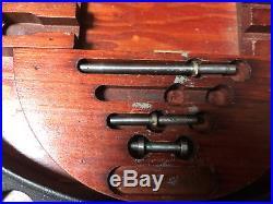 MACHINIST LATHE TOOL MILL Machinist Brown & Sharpe 12 16 Micrometer Set