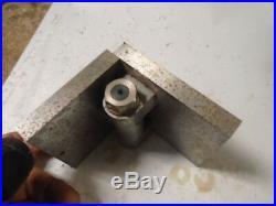 MACHINIST LATHE TOOL MILL Machinist Ground Adjustable Angle Plate Fixture