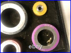 MACHINIST LATHE TOOL MILL Machinist Lot of Ring Gages Ring Master DrZ