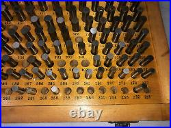 MACHINIST LATHE TOOL MILL Machinist Set of Pin Gages Gauge Plus 251 500 ShX