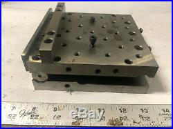 MACHINIST LATHE TOOL MILL Suburban Tool 6 by 6 Adjustable Angle Sine Plate OfcE