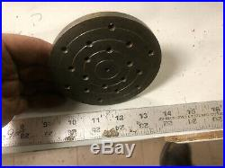 MACHINIST LATHE TOOL MILL UNUSUAL 3C Collet Face Plate Dr