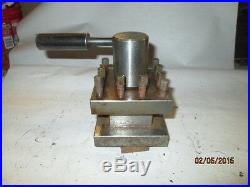 MACHINIST MILL LATHE Lathe Turret Tool Post 4 1/4 Square