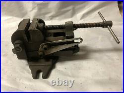 MACHINIST MILL LATHE MILL 2 3/8 Palmgren Adjustable & Swivel Machinist Vise Ofc