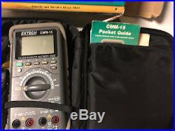 MACHINIST MILL LATHE MILL Extech CMM-15 Process Calibrator Multimer in Box JwCb