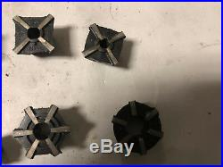 MACHINIST MILL LATHE MILL Machinist Lot of Jacobs Rubber Collets DrA z