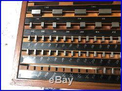 MACHINIST MILL LATHE MILL Machinist Mitutoyo Gage Block Set 516 903