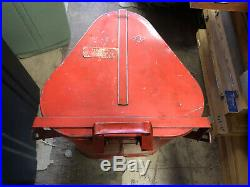 MACHINIST MILL LATHE MILL Vintage Gas Station Eagle Rag Garbage Can Advertising