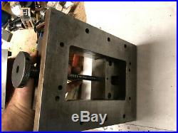 MACHINIST MILL LATHE Machinist Bay State Moore Jig Bore Vise 5 1/2