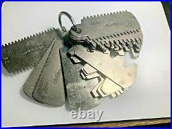 MACHINIST MILL LATHE Machinist Boston Gear Gage Gauge Diametral Pitch (591)