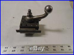 MACHINIST MILL LATHE Machinist Grand Germany Turret Tool Post for Lathe 2 1/2