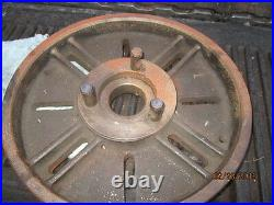 MACHINIST MILL LATHE TOOL NICE HEAVY Large 17 Lathe Face Plate