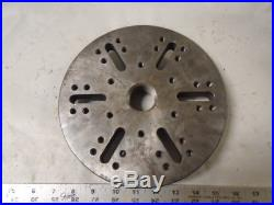 MACHINIST South Bend Atlas TOOLS LATHE South Bend 6 1/2 Face Plate 1 1/2 8 TPI