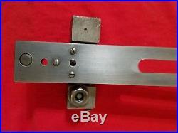 MACHINIST TOOLS LATHE MILL 10-12 in. Lathe Taper Attachment Atlas Craftsman
