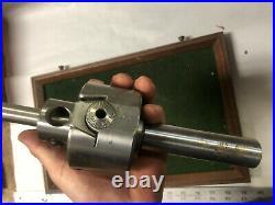 MACHINIST TOOLS LATHE MILL Adjustable Boring Head 1 Shank 5/8 Holder KndyBx