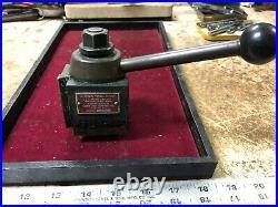 MACHINIST TOOLS LATHE MILL Aloris AXA Wedge Type Quick Change Tool Post BkCs