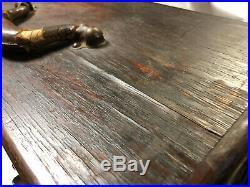 MACHINIST TOOLS LATHE MILL Antique Gerstner Oak Machinist Tool Box Bsmnt