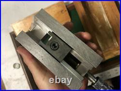 MACHINIST TOOLS LATHE MILL Bison Poland Super Precision Grinding Vise 2 1/2 Grn