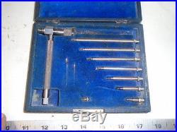 MACHINIST TOOLS LATHE MILL Brown & Sharpe # 286 Unusual Inside Micrometer