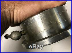 MACHINIST TOOLS LATHE MILL Eclipse 4 3/4 in Diam Round Magnetic Chuck Plate OfC