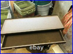 MACHINIST TOOLS LATHE MILL Kennedy Machinist Riser 2 Drawer Tool Box a BsmnT