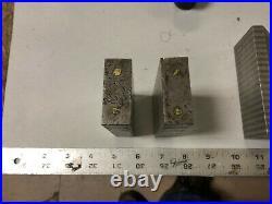 MACHINIST TOOLS LATHE MILL Lot Magnetic Transfer Blocks Parallel & V Block DrBm