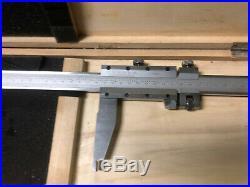 MACHINIST TOOLS LATHE MILL Machinist 24 Vernier Caliper Gage BgCbTp F