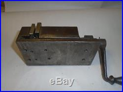 MACHINIST TOOLS LATHE MILL Machinist 3 1/2 Shaper Milling Vise and Handle