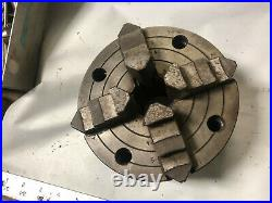 MACHINIST TOOLS LATHE MILL Machinist 6 4 Jaw Lathe Chuck with Back Plate OfCe