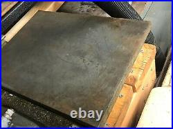 MACHINIST TOOLS LATHE MILL Machinist Cast Surface Plate 12 by 16 InvSt