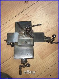 MACHINIST TOOLS LATHE MILL Machinist Cross Slide For Jewlers lathe watchmaker