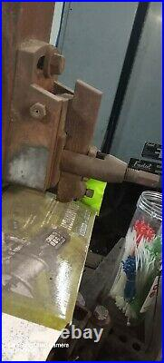 MACHINIST TOOLS LATHE MILL Machinist G & E Shaper Machine Model 24 inch w / tool