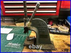 MACHINIST TOOLS LATHE MILL Machinist Greenard Arbor Press Mini Small InVst