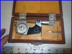 MACHINIST TOOLS LATHE MILL Machinist HDT Indicating Micrometer Gage Carbide Tips