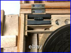 MACHINIST TOOLS LATHE MILL Machinist Hardness Tester Kit in Wood Box OfCe