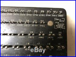 MACHINIST TOOLS LATHE MILL Machinist Horberg Drill Pin Gage Set Number