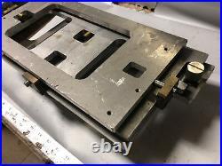 MACHINIST TOOLS LATHE MILL Machinist Large Aluminum Adjustable Platform Fixture