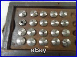MACHINIST TOOLS LATHE MILL Machinist Lot of 20 8 mm Jewelers Lathe Collets