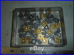 MACHINIST TOOLS LATHE MILL Machinist Lot of Unused Carbide Cutting Insert s #11