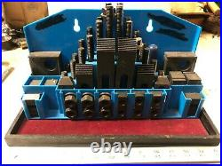MACHINIST TOOLS LATHE MILL Machinist Milling Hold Down Set Up Strap Set TpCb