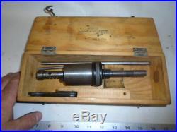 MACHINIST TOOLS LATHE MILL Machinist SPV Tap Tapping Head Model SAR 50