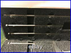 MACHINIST TOOLS LATHE MILL Machinist Starrett Depth Gage Micrometer in Case OkCb