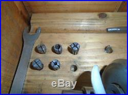 MACHINIST TOOLS LATHE MILL Machinist Tapping Head with Collets