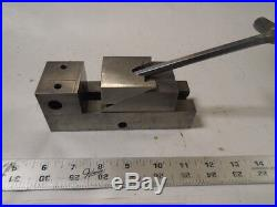 MACHINIST TOOLS LATHE MILL Machinist Tool Makers 1 7/8 Grinding Vise