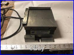 MACHINIST TOOLS LATHE MILL Machinist Walker 6X6 Magnetic Chuck Adjustable Sine