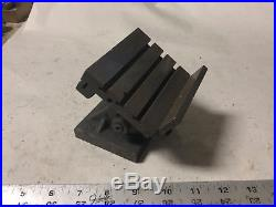 MACHINIST TOOLS LATHE MILL Micro Adjustable T Slot Milling Fixture for Sherline