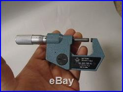 MACHINIST TOOLS LATHE MILL Mitutoyo 0 to 1 Digitale Carbide Tip Micrometer A