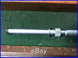 MACHINIST TOOLS LATHE MILL Mitutoyo 146-104 1 Inside Groove Micrometer BlkCse